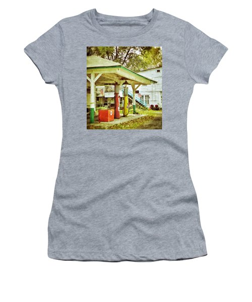 Visible Gas Pumps Women's T-Shirt (Athletic Fit)