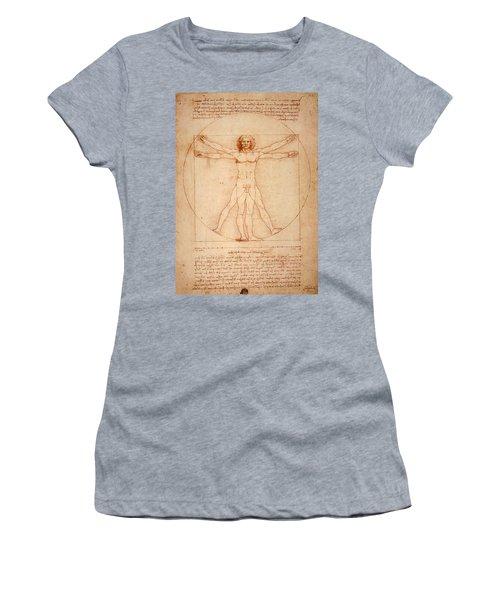 Vitruvian Man Women's T-Shirt