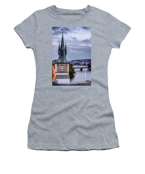 Vltava River In Prague Women's T-Shirt