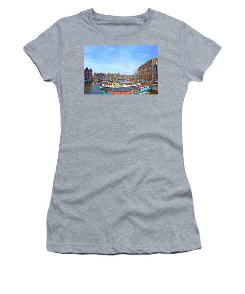 Waalseilandgracht Amsterdam Women's T-Shirt
