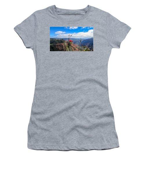 Waimea Canyon Women's T-Shirt (Athletic Fit)