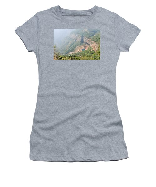 Waiting For The Monsoons Women's T-Shirt (Athletic Fit)