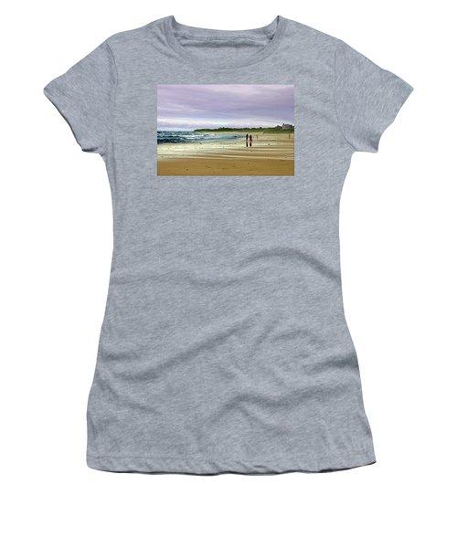 Walking The Dog After A Storm Women's T-Shirt