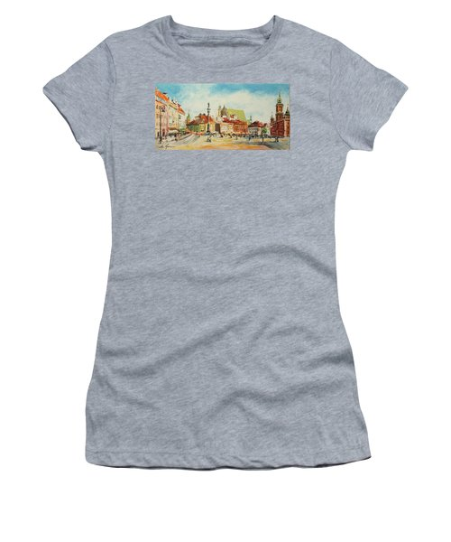 Warsaw- Castle Square Women's T-Shirt