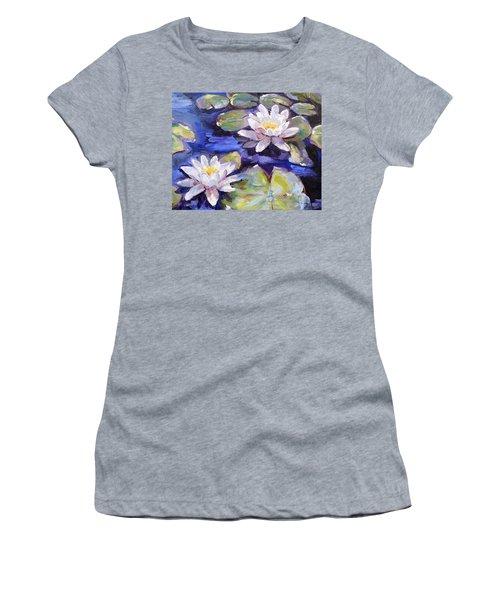 Water Lilies Women's T-Shirt