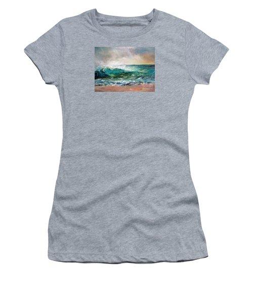 Waves Women's T-Shirt (Junior Cut)