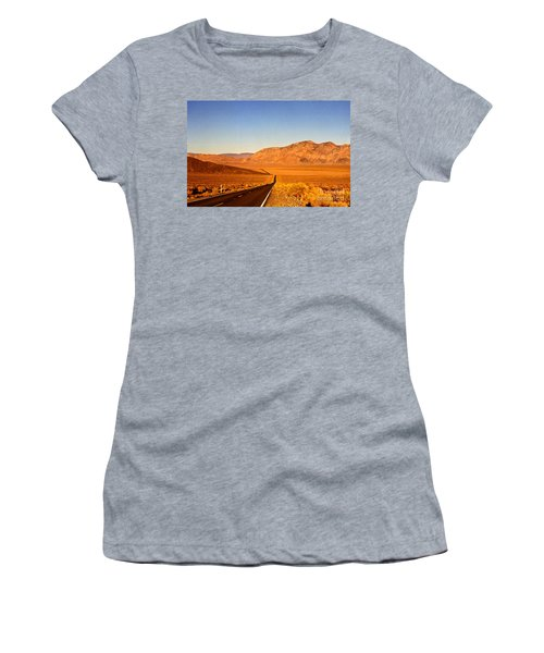 Way Open Road Women's T-Shirt (Athletic Fit)