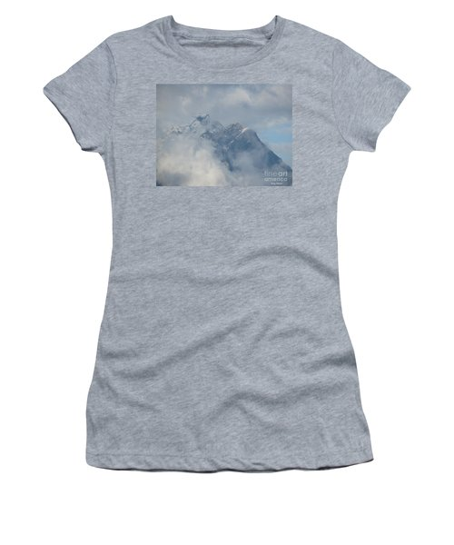 Women's T-Shirt (Junior Cut) featuring the photograph Way Up Here by Greg Patzer