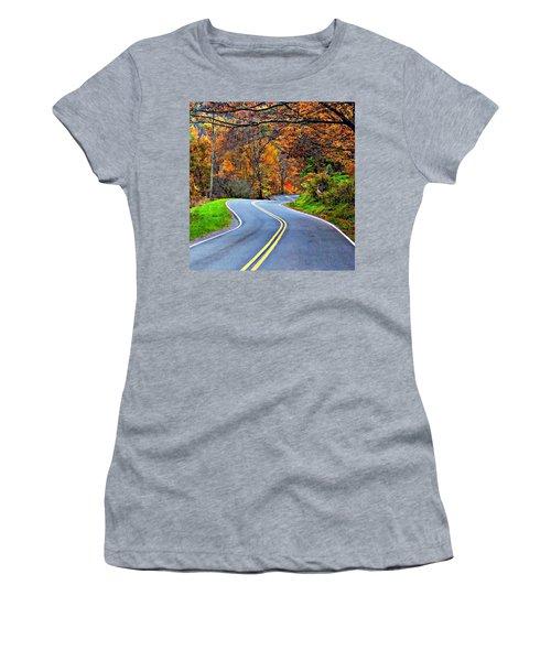 West Virginia Curves 2 Women's T-Shirt