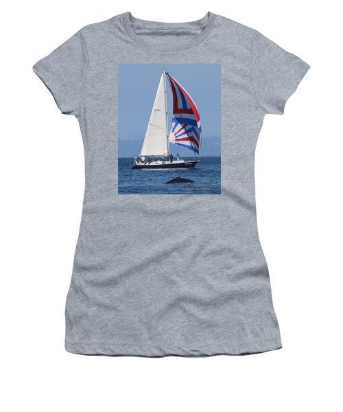 Whale Watching 1 Women's T-Shirt