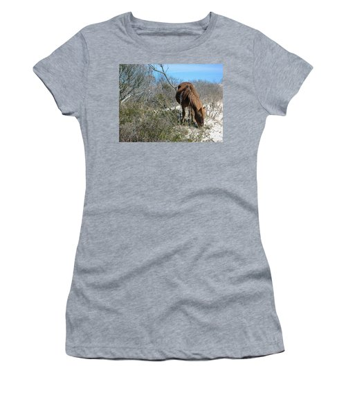 Women's T-Shirt (Junior Cut) featuring the photograph What Do I See Here? by Photographic Arts And Design Studio