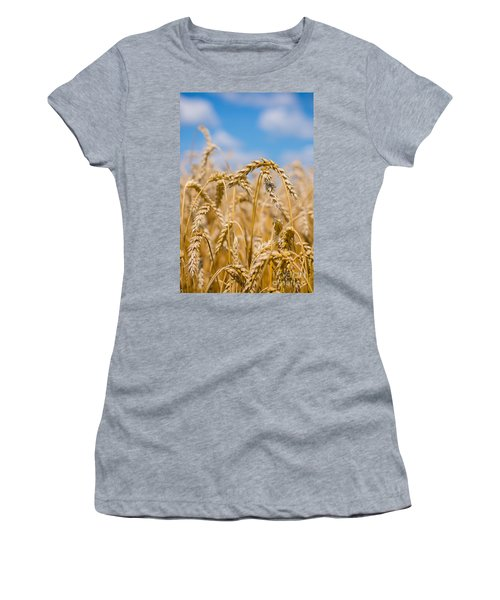 Wheat Women's T-Shirt (Athletic Fit)