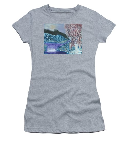 Where Are We Women's T-Shirt (Athletic Fit)