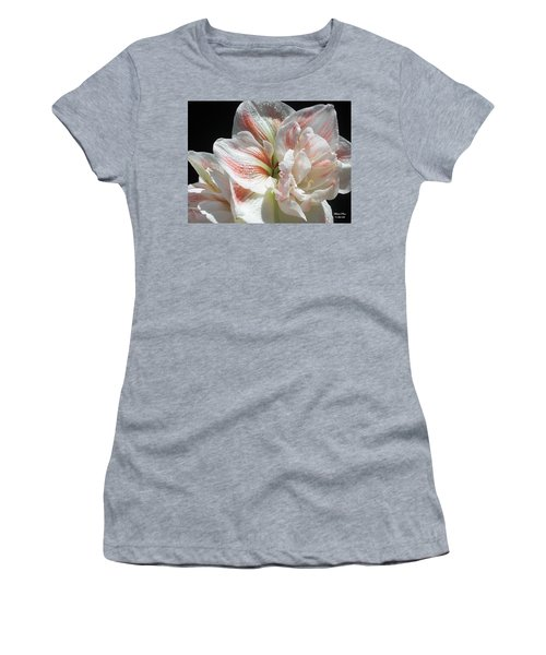 White Beauty  Women's T-Shirt (Athletic Fit)