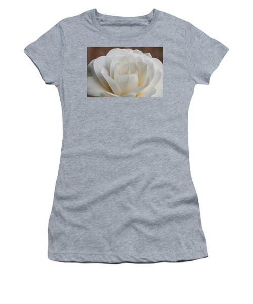 White Camellia Women's T-Shirt