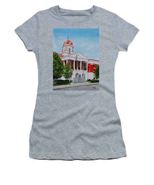 White County Courthouse - Veteran's Memorial Women's T-Shirt