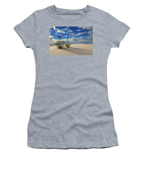 White Sands Afternoon 2 Women's T-Shirt (Junior Cut) by Alan Vance Ley