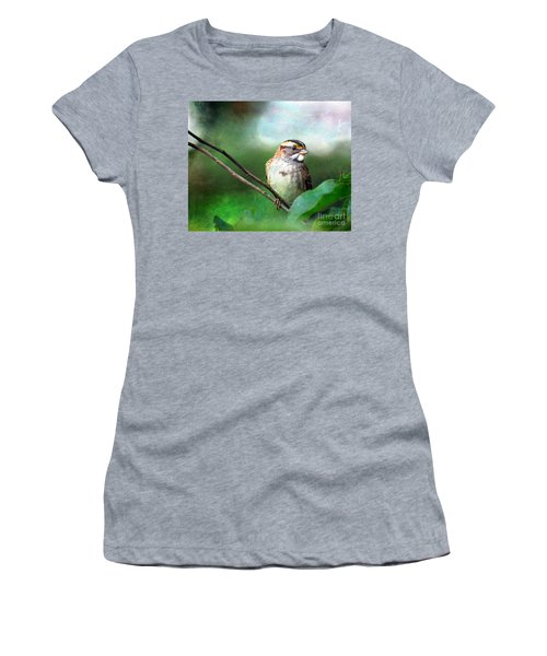 White-throated Sparrow Women's T-Shirt