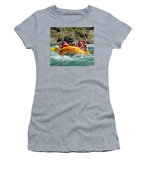 White Water Fun Women's T-Shirt (Athletic Fit)