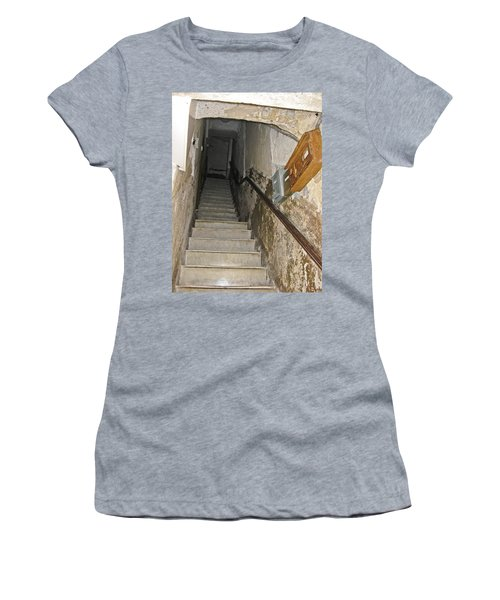 Women's T-Shirt (Junior Cut) featuring the photograph Who Lives Here? by Allen Sheffield