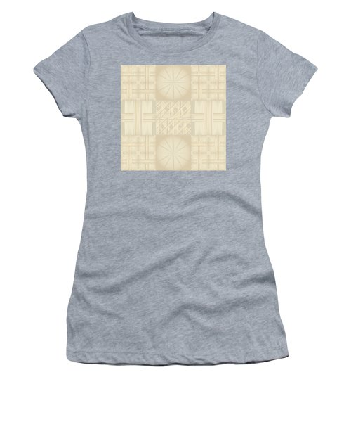 Wicker Quilt Women's T-Shirt