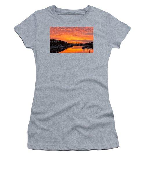 Wild Dunes Sunset Isle Of Palms Women's T-Shirt