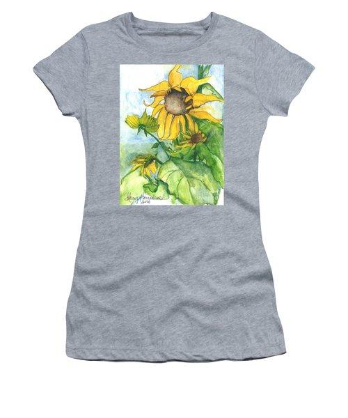 Wild Sunflowers Women's T-Shirt