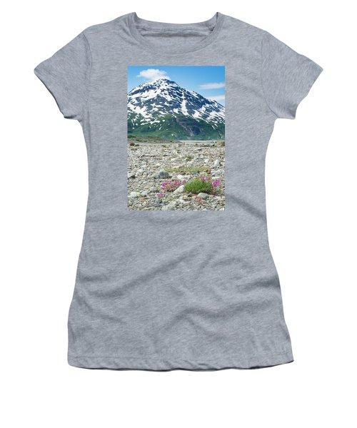 Wildflowers Along The Shores Women's T-Shirt