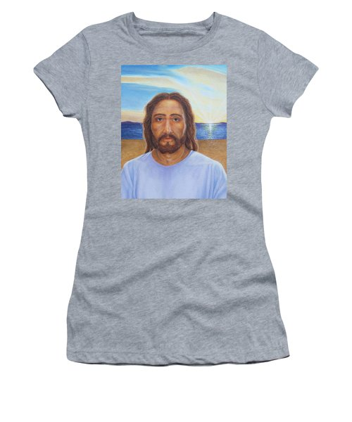 Will You Follow Me - Jesus Women's T-Shirt (Athletic Fit)