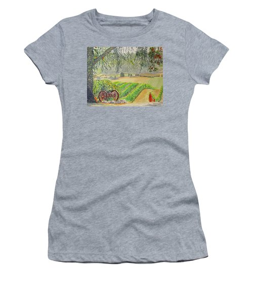 Willamette Valley Winery Women's T-Shirt (Junior Cut)