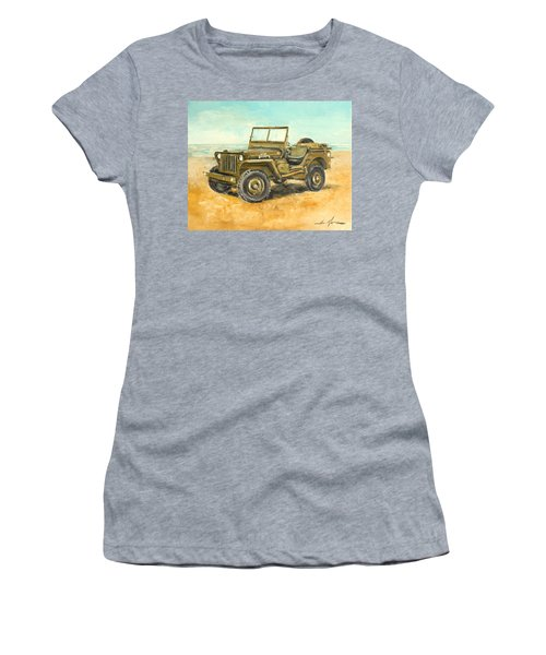 Willys Jeep Women's T-Shirt (Athletic Fit)