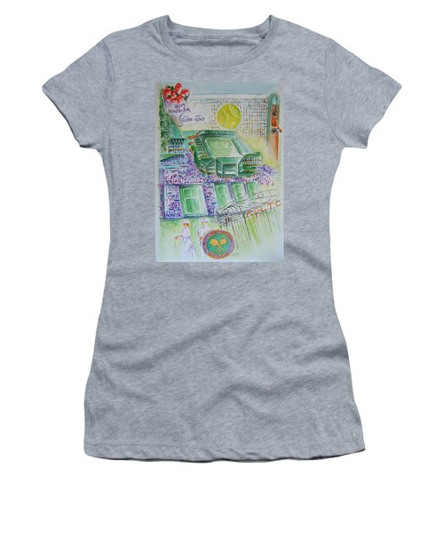 Wimbledon 2014 Women's T-Shirt (Athletic Fit)