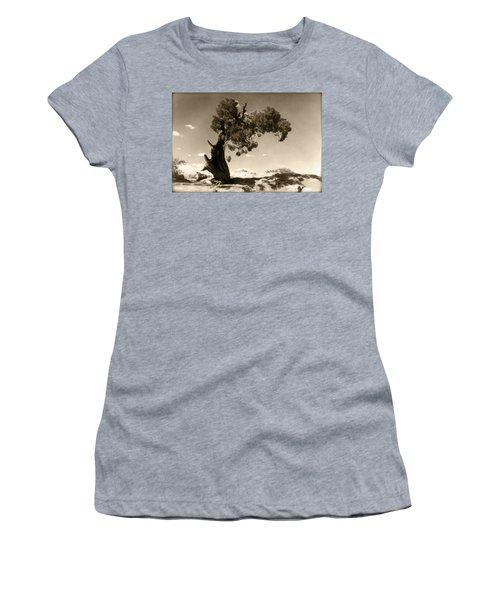 Wind Swept Tree Women's T-Shirt