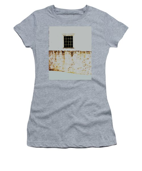 Window Wall And Snow Women's T-Shirt