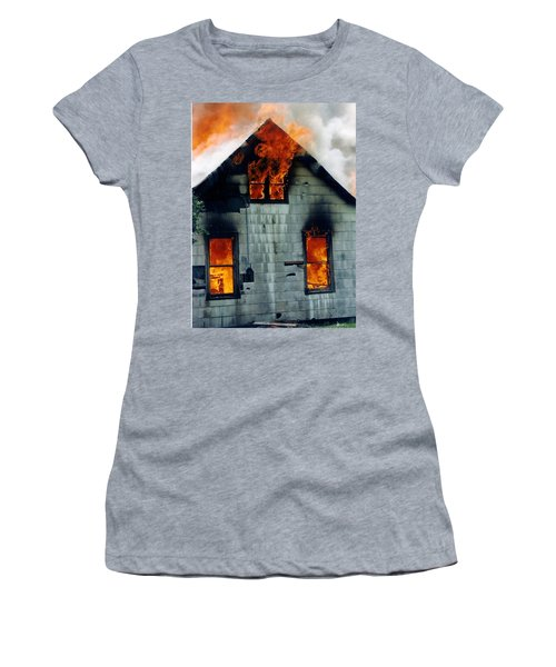 Windows Aflame Women's T-Shirt