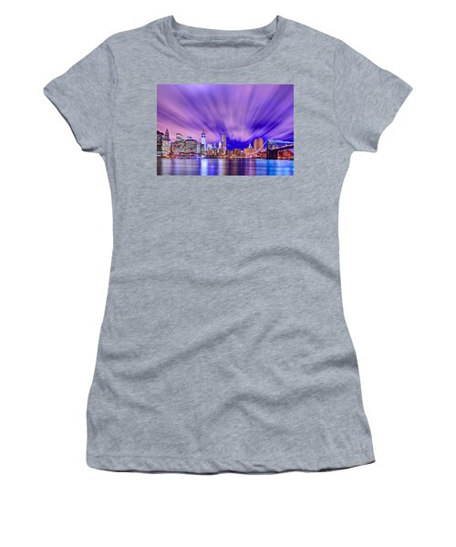 Winds Of Lights Women's T-Shirt (Athletic Fit)