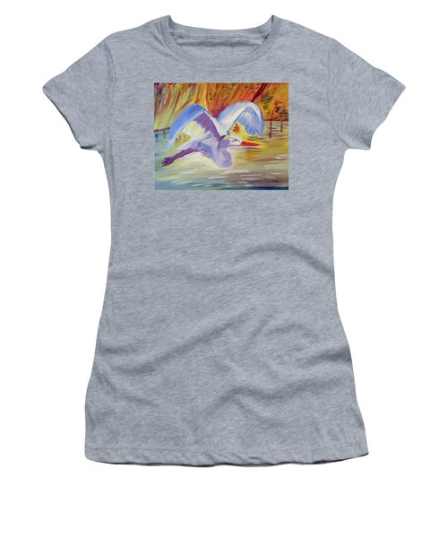 Winged Creation Women's T-Shirt (Athletic Fit)