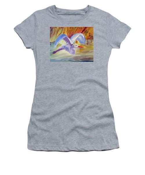 Winged Creation Women's T-Shirt (Junior Cut) by Meryl Goudey