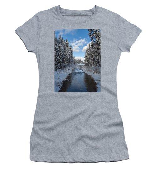 Winter Creek Women's T-Shirt (Athletic Fit)