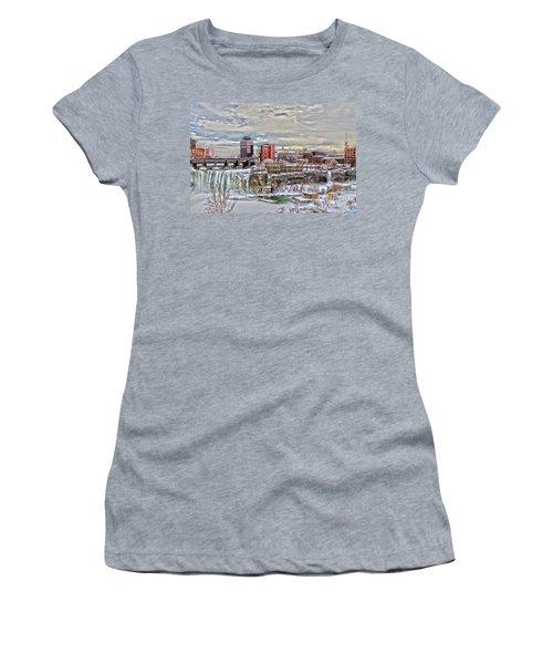 Winter In Rochester Women's T-Shirt