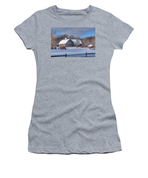 Winter On The Farm 14586 Women's T-Shirt