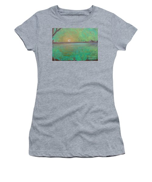 Winter Solitude 7 Women's T-Shirt (Junior Cut) by Jacqueline Athmann