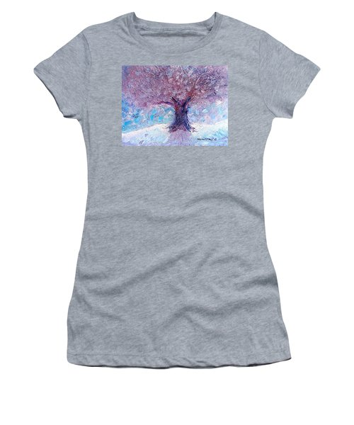 Winter Solstice Women's T-Shirt (Athletic Fit)