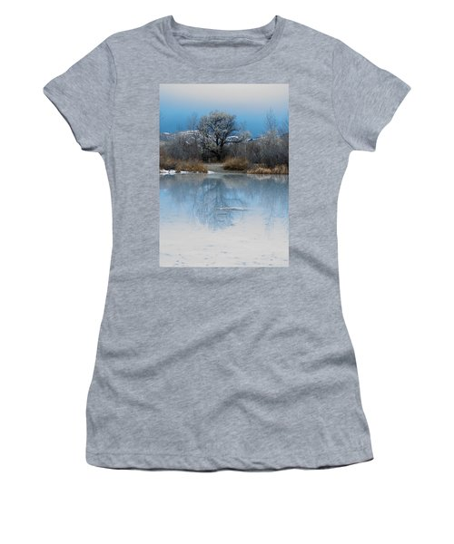 Winter Taking Hold Women's T-Shirt (Athletic Fit)