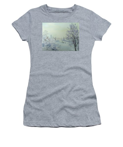 Winter Visitors Women's T-Shirt (Athletic Fit)