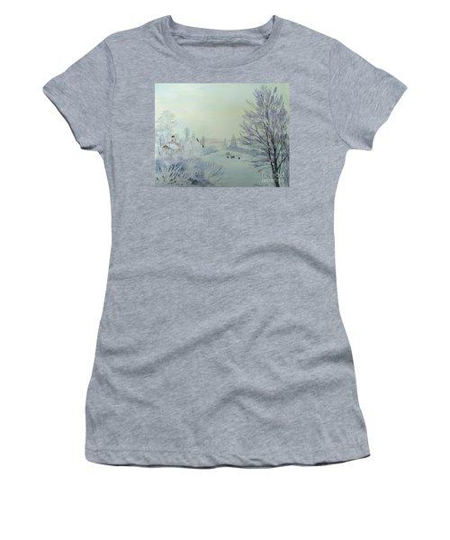 Winter Visitors Women's T-Shirt (Athletic Fit)