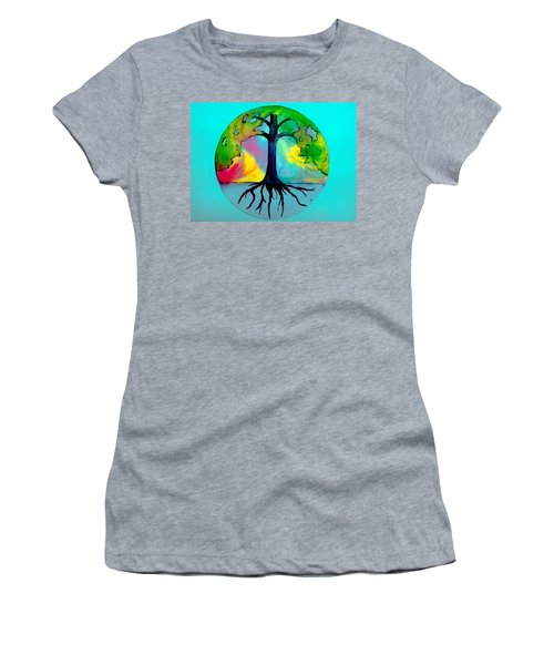 Wishing Tree Women's T-Shirt (Athletic Fit)