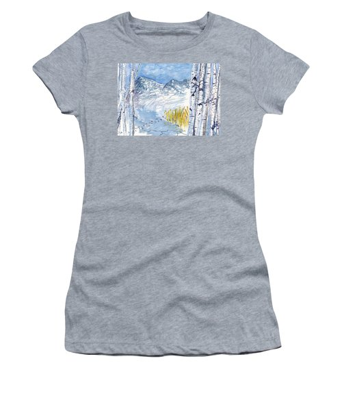 Without Borders Women's T-Shirt (Athletic Fit)