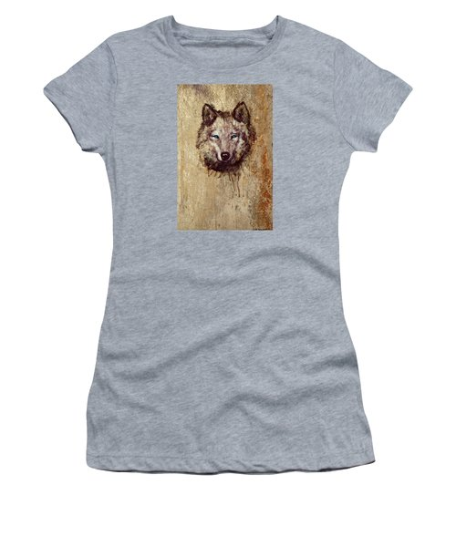 Wolf Women's T-Shirt (Athletic Fit)
