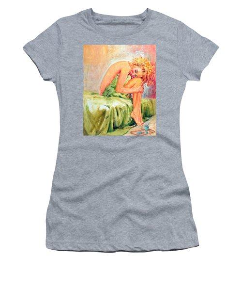 Woman In Blissful Ecstasy Women's T-Shirt